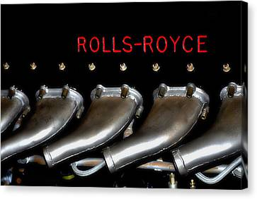 Rolls Royce Merlin 62 Canvas Print by See My  Photos
