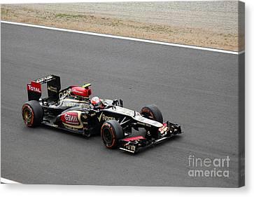 Romain Grosjean Canvas Print