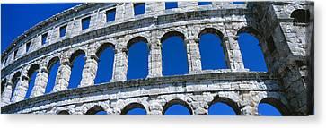 Roman Amphitheater, Pula, Croatia Canvas Print by Panoramic Images