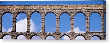 Roman Aqueduct, Segovia, Spain Canvas Print by Panoramic Images