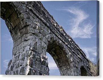 Roman Aqueducts II Canvas Print by Joan Carroll