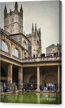 Roman Bath 04 Canvas Print by Svetlana Sewell