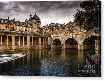 Roman Bath Canvas Print by Svetlana Sewell