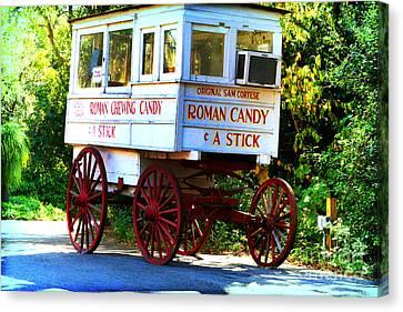 Roman Candy Canvas Print by Scott Pellegrin