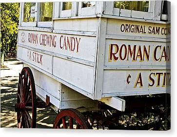 Roman Chewing Candy Canvas Print by Scott Pellegrin