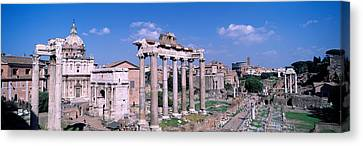 Roman Forum, Rome, Italy Canvas Print by Panoramic Images