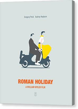 Roman Holiday Canvas Print by Smile In The  Mind