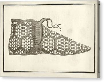 Roman Shoe Canvas Print by Middle Temple Library