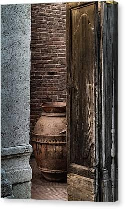 Roman Vase Canvas Print