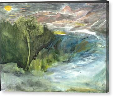 Romance Natural Canvas Print