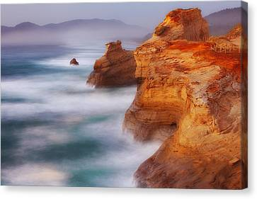 Romancing The Stone Canvas Print by Darren  White