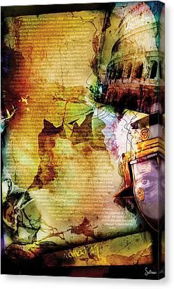 Romans 1 Canvas Print by Switchvues Design