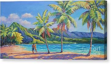 Romantic Hanalei Bay Canvas Print