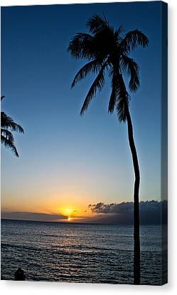 Romantic Maui Sunset Canvas Print