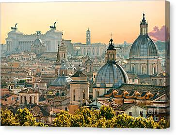 Rome - Italy Canvas Print by Luciano Mortula