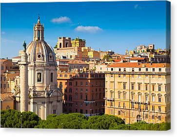 Rome 02 Canvas Print by Tom Uhlenberg