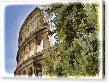 Rome Coliseum Canvas Print
