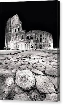 Rome Colloseum Canvas Print