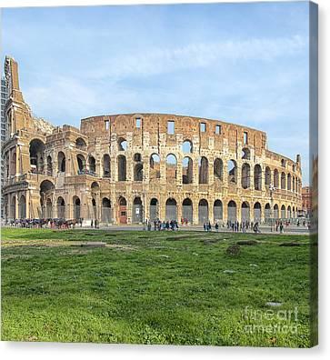Rome Colosseum 01 Canvas Print