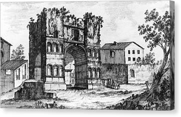 Rome Forum Boarium Canvas Print