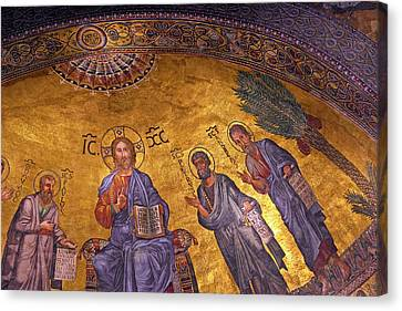 Rome, Italy, Basilica Di San Paolo Canvas Print by Miva Stock