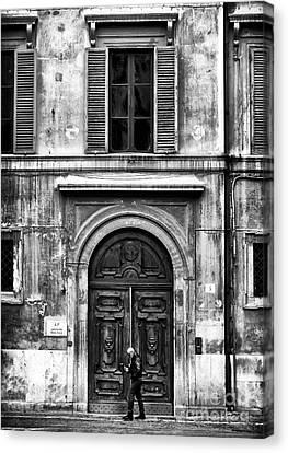 Rome Canvas Print by John Rizzuto