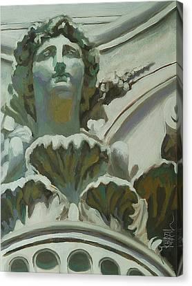 Rome Statue Canvas Print by Khairzul MG