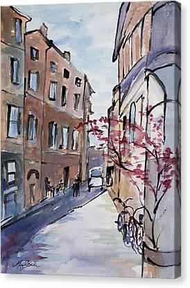 Rome Street Scene IIi Canvas Print