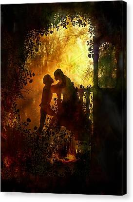 Romeo And Juliet - The Love Story Canvas Print