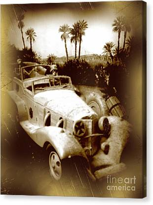 Rommel Desert Rat Canvas Print by John Malone