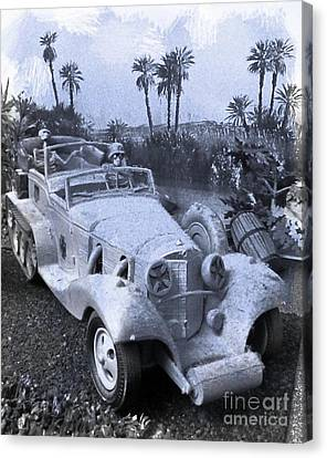 Rommel's Hot Rod Canvas Print by John Malone