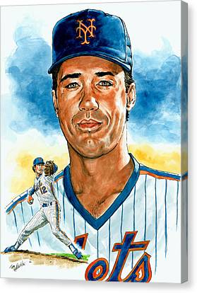 Ron Darling Canvas Print by Tom Hedderich