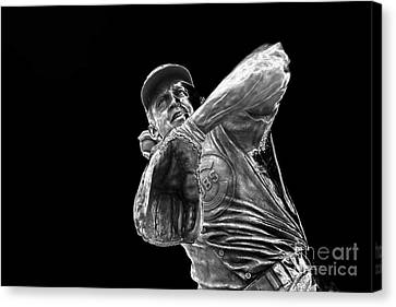 Ron Santo - H O F Canvas Print by David Bearden