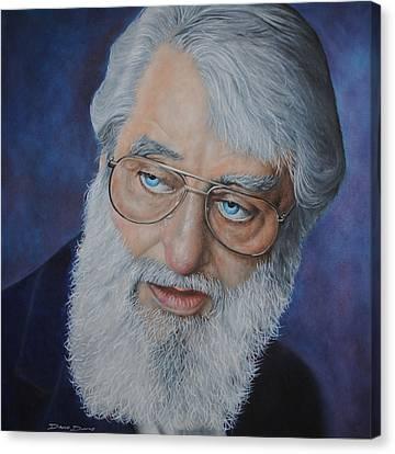 Ronnie Drew Canvas Print by David Dunne
