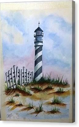 Ron's Lighthouse Canvas Print