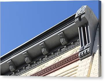 Roof Detail Canvas Print by Jp Grace