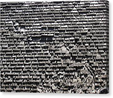 Roof Textures Canvas Print