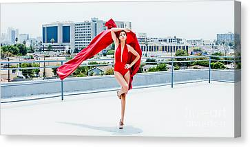 Roof Top II Canvas Print by Gregory Worsham