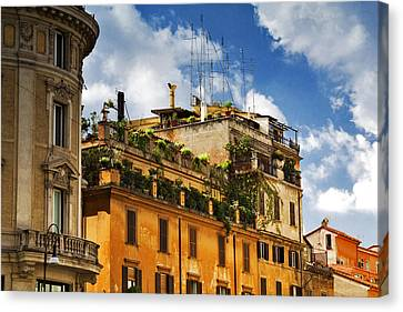 Rooftop Garden Canvas Print