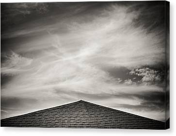 Canvas Print featuring the photograph Rooftop Sky by Darryl Dalton