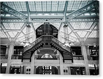 Rookery Building Atrium Canvas Print