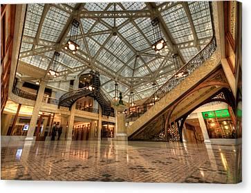 Rookery Building Main Lobby And Atrium Canvas Print