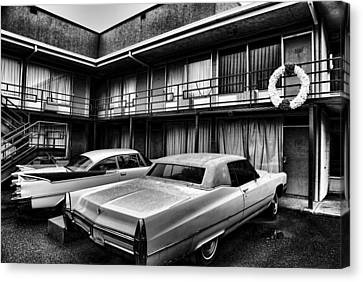 Martin Luther King Jr Canvas Print - Room 306 At The Lorraine Hotel by Stephen Stookey