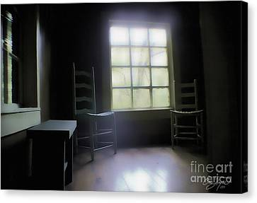 Room With A View Canvas Print by Cris Hayes