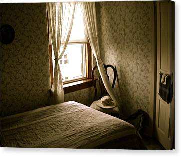Canvas Print featuring the photograph Room301 Irish Inn by Joan Reese