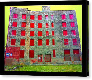 Rooms With No View Canvas Print