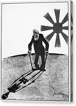 Roosevelt Cartoon, 1941 Canvas Print by Granger