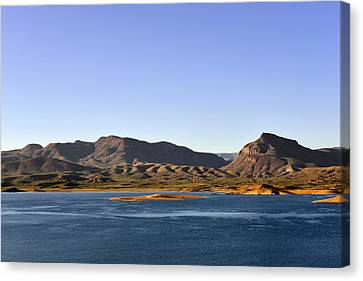 Roosevelt Lake Arizona Canvas Print by Christine Till