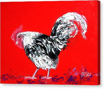 Rooster Gabriel Canvas Print