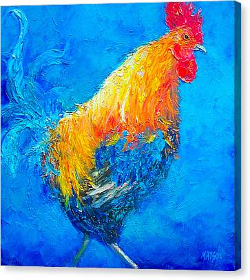 Max The Rooster Canvas Print